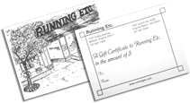 example gift certificate photo of front and back